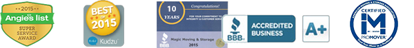 Moving and Storage Awards and Affiliations