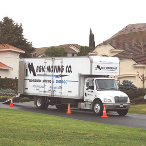 Movers Burlingame CA Truck