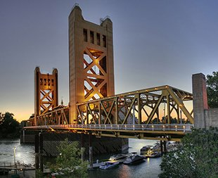 Historic Sacramento Tower Bridge