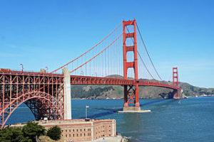 moving to San Francisco, Golden Gate Bridge