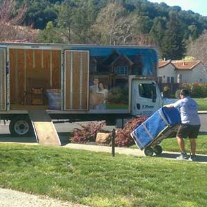 Local Moving with Dolly and Wrapping Furniture