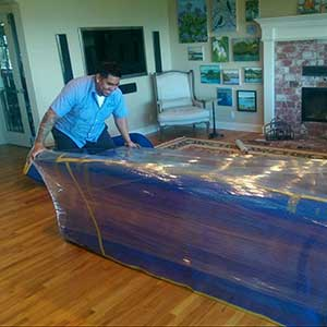 Wrapping Your Valuable Furniture Items Before Moving and Storage