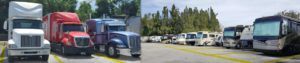 bay area rv storage, bay area truck storage, storage for tractor trailer